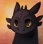 Toothless by Heiin