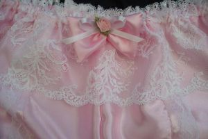Close up of lacy pink by buttered-panties
