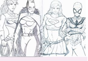 Super 'girls' by MikeVanOrden