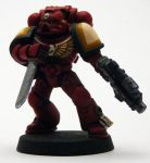 Blood Raven Tactical Marine 2 by OrneryAmerican