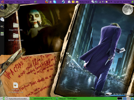 Joker - Dark Knight Desktop by Samiell
