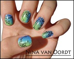 Nail art by Ninails