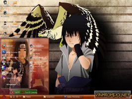 Uchiha Sasuke Style for XP by vinhxomdoi