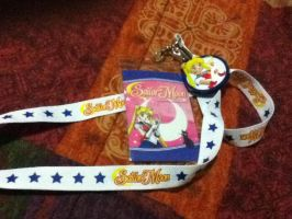Sailor Moon Lanyard. by TMNTISLOVE