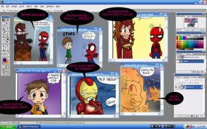 preview of spiderchibi 15-20 by OrangeBlueCream