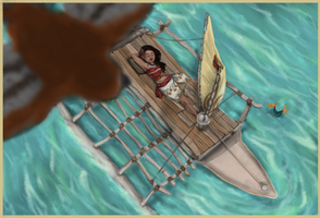 Moana is kewl by kkcooly