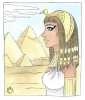 Queen Cleopatra by the-winter-girl