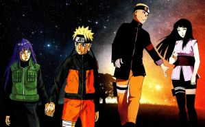 Naruto and Hinata Shippuden and Last Wallpaper by weissdrum
