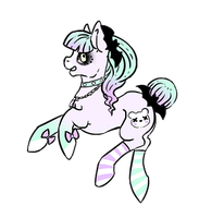 Raffle Pony Adoptable 1: CLOSED by Lunar-Sugar