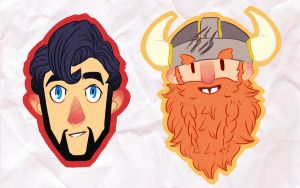 Yogscast stickers by rbsng
