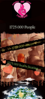 HOW Love Contest: 1725 000 hearts by EccentricRaven