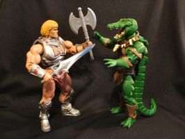 MOTUC custom Swamp Chomp 4 by masterenglish