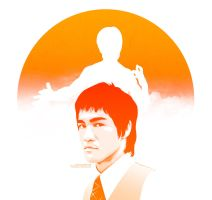 Bruce Lee by iPeccatore