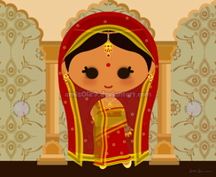 Group Calender - Indian Bride (May) by amis0129