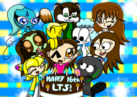 HAPPY 16TH TO ME~ :D by LillyTheSeedrian