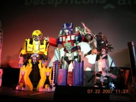 Transformers cosplay by artemovin