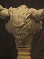 Wolfman  Original WIP by Blairsculpture
