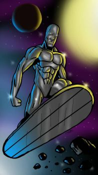 The Silver Surfer by The-Art-Of-The-Brian