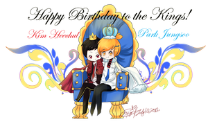 .::Happy Birthday to the Kings::. by Del-Hee-Cious
