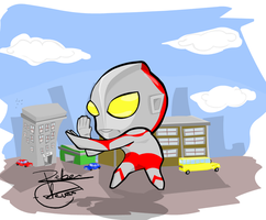 Ultraman FanArt by Reber-Estevao