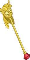Twilight Scepter Vector by WizE-KevN