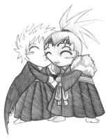 Bleach - Chibi Smooch by VeeBunny