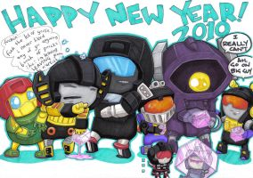 happy new year two-o-one-o by prisonsuit-rabbitman