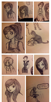 Doodles from Bath by MollysArtCorner