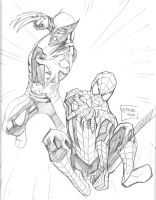 09062014 Wolverine Spidey by guinnessyde