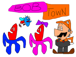 Bob Town, the most original cartoon ever! by GeneralSomething
