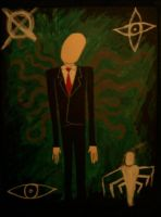Slender Man II by NickVoid1991