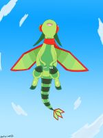 Flygon Up High Coloured