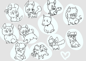 feature chibis by pitbullie