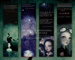 Literature Quotes Bookmarks I by mairimart