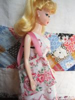 Rose dress with purse by after-the-funeral