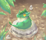 Creature : Rainy lizard by R-nowong