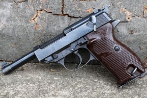 Walther P38 World War 2 by PLutonius
