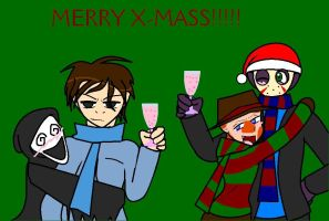Merry X-mas from the killers by Ynnep