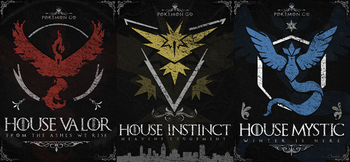 3 Legendary Houses by chaxelos