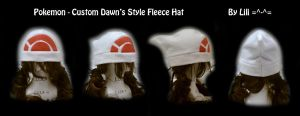 Custom Style of Dawn's Hat by LiliNeko