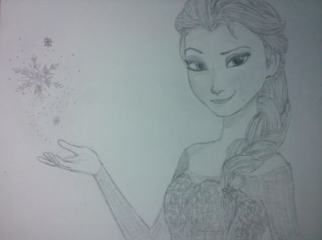 Frozen: Elsa by lmoyer92