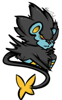 Luxray by Miniatureowl