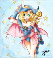Dark Magician Girl by Ashka-chan