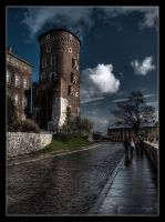 Tower in the Sun by IzabelaMilczarek