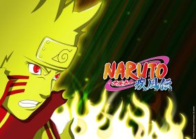 Naruto 571 Bijuu Mode by DrLinuX