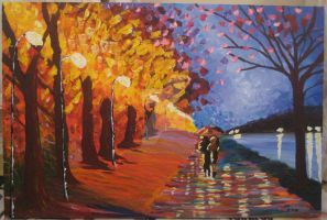 landscape painting by Cocopops-Mcgarrick