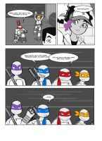 TMNT fan comic: Walks like an Angel part 5 by ActionKiddy