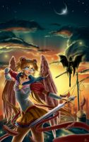 Sailor Moon_I'll fight until the end by Pillara
