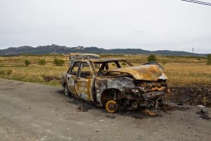 burned car 2 by ana-ene-eme