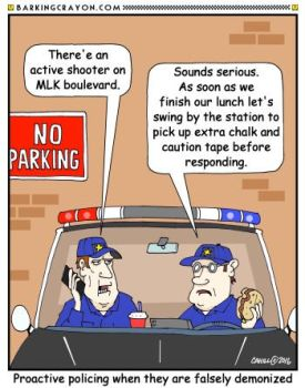 Proactive Policing by Conservatoons